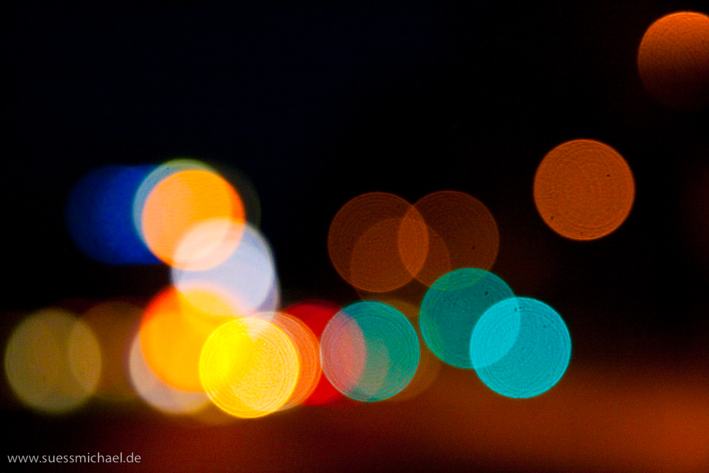 Colourful Dots doesn't sound as sophisticated as Bokeh
