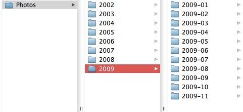 My folder structure