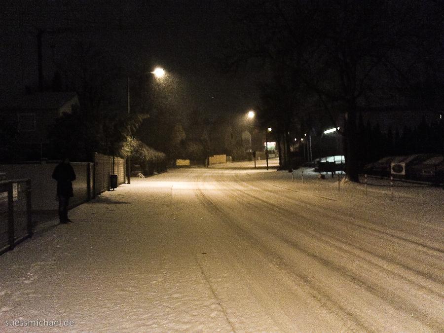 Snowy Regensburg