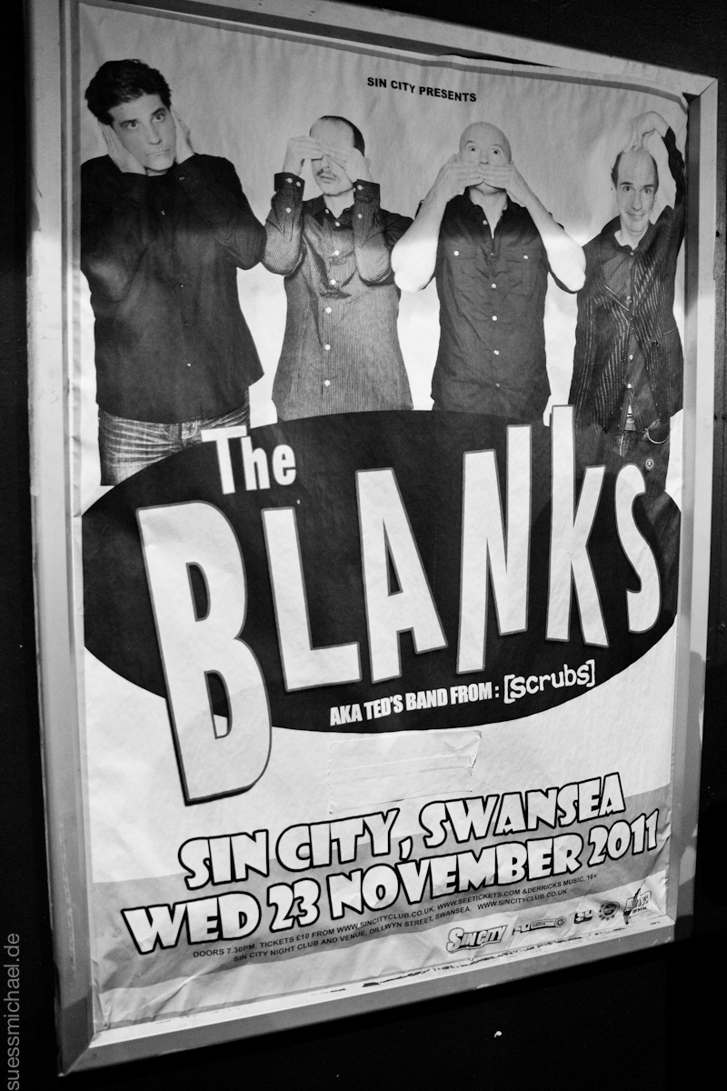 2011-11-23 The Blanks / Sin City Swansea (2)