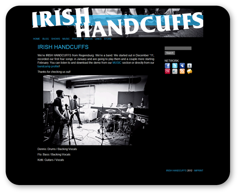 IrishHandcuffs.com - website