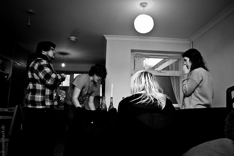 2012-01-26 Sam, George, Evey, Fiona ©