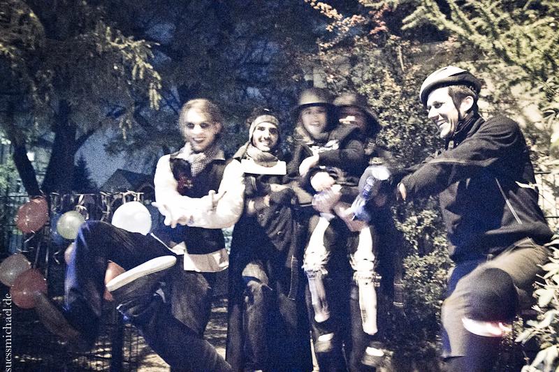 2012-10-31 Halloween Alleycat 2012 Regensburg © (gangnam style)