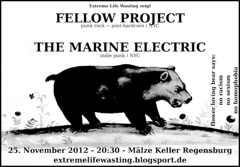 2012-11-25 Fellow Project + The Marine Electric