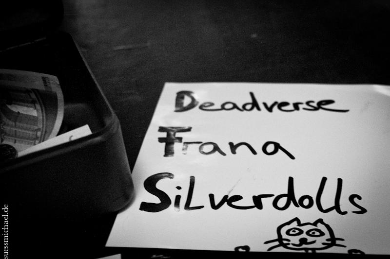 2013-01-31 Deadverse + Frana + Silverdolls