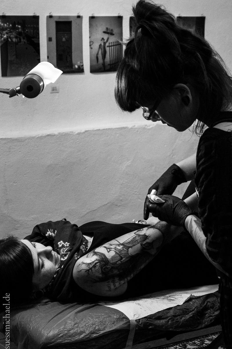 2014-10-26 Spilled Ink / KOEPFEN tattoo Regensburg