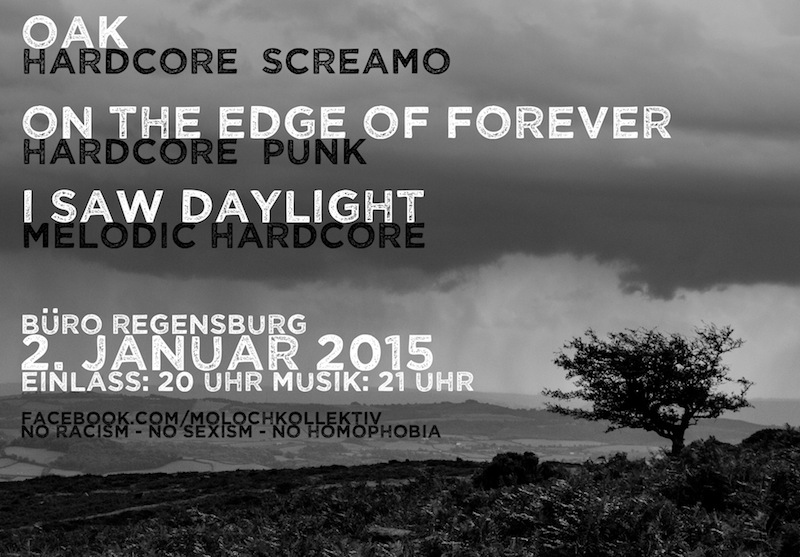 2015-01-02 Moloch Kollektiv + Oak + I Saw Daylight + On The Edge of Forever ©