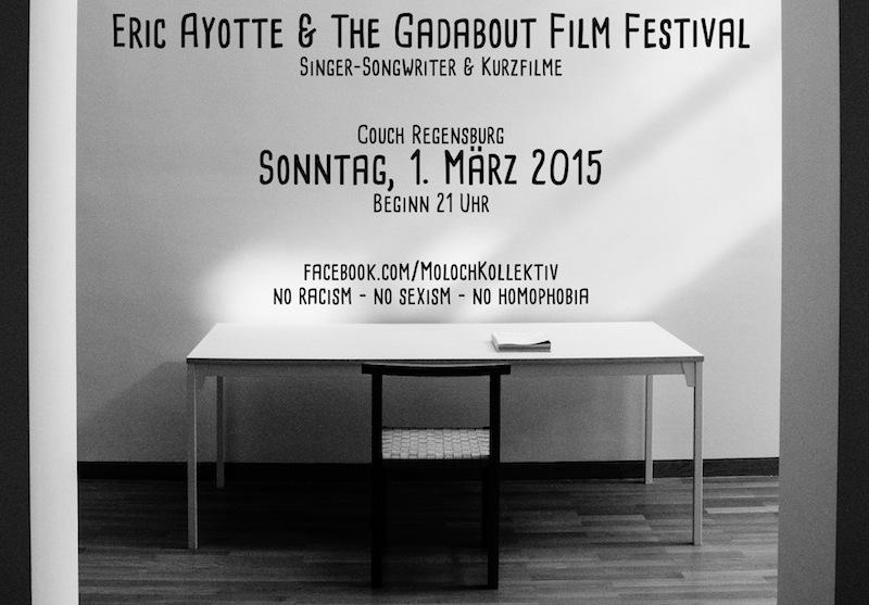 2015-03-01 Eric Ayotte + Gadabout Film Festival