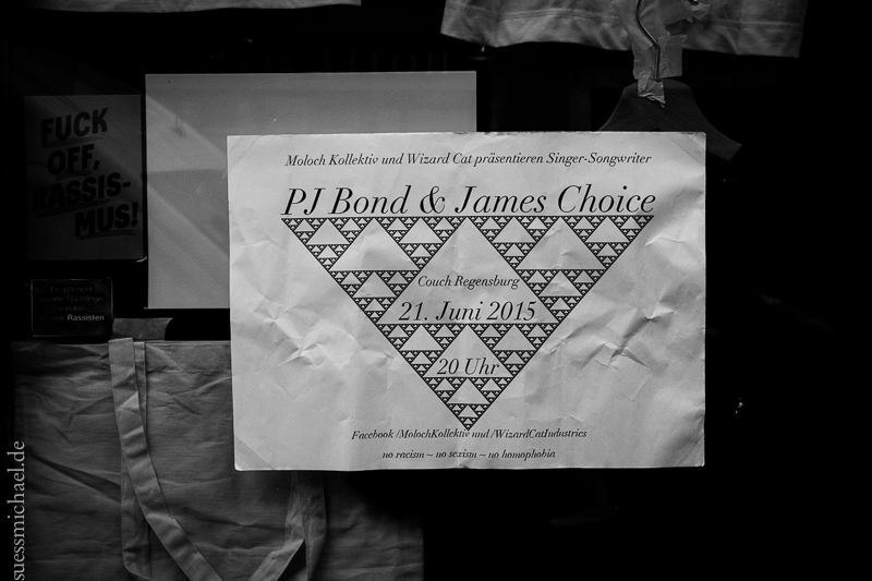 2015-06-21 PJ Bond + James Choice + The Bad Decisions