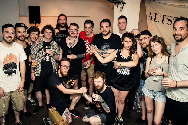 2015-07-04 Red Apollo + Wølfenstein + surhysa + Moloch Kollektiv