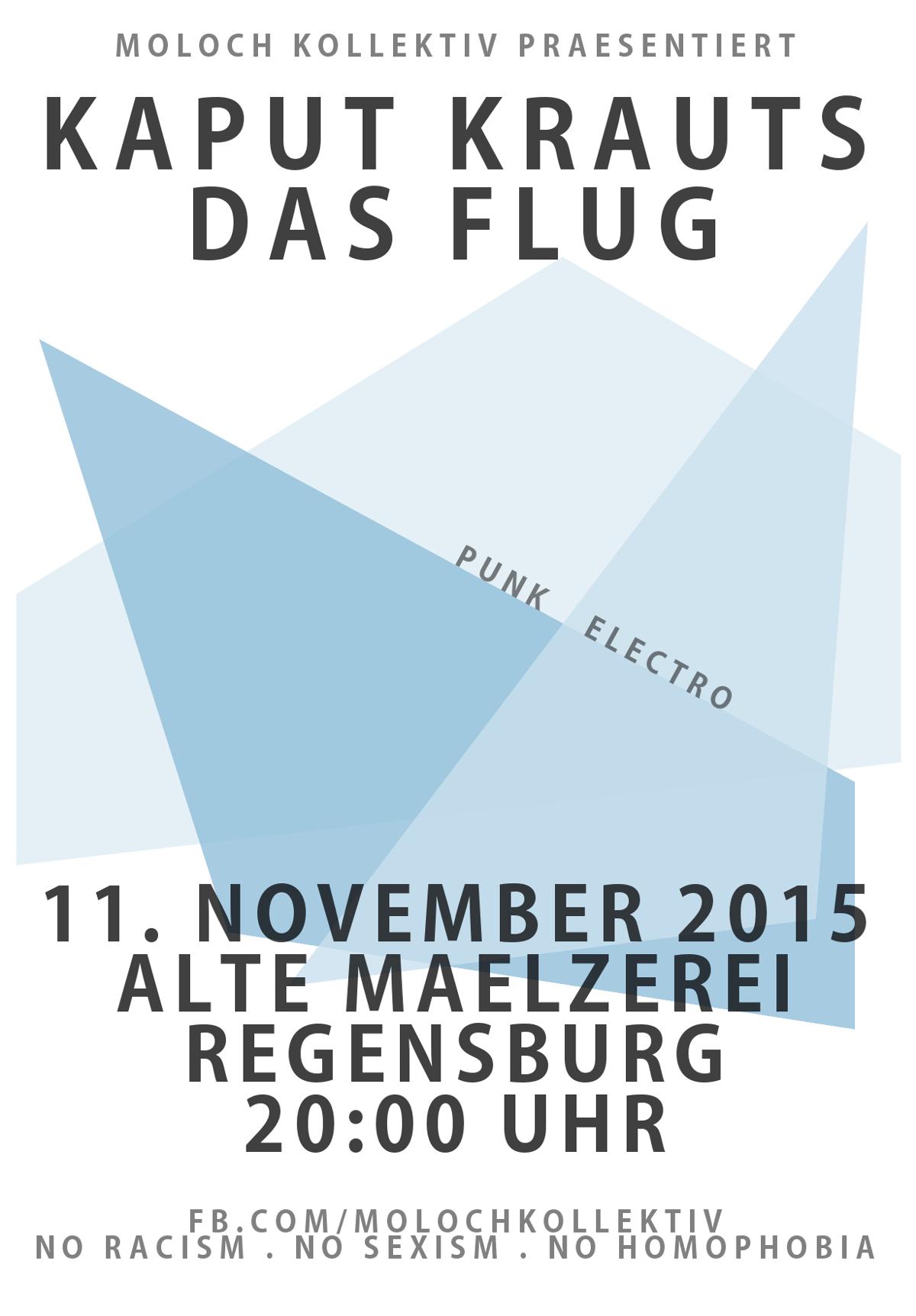 2015-11-11 Kaput Krauts + Das Flug