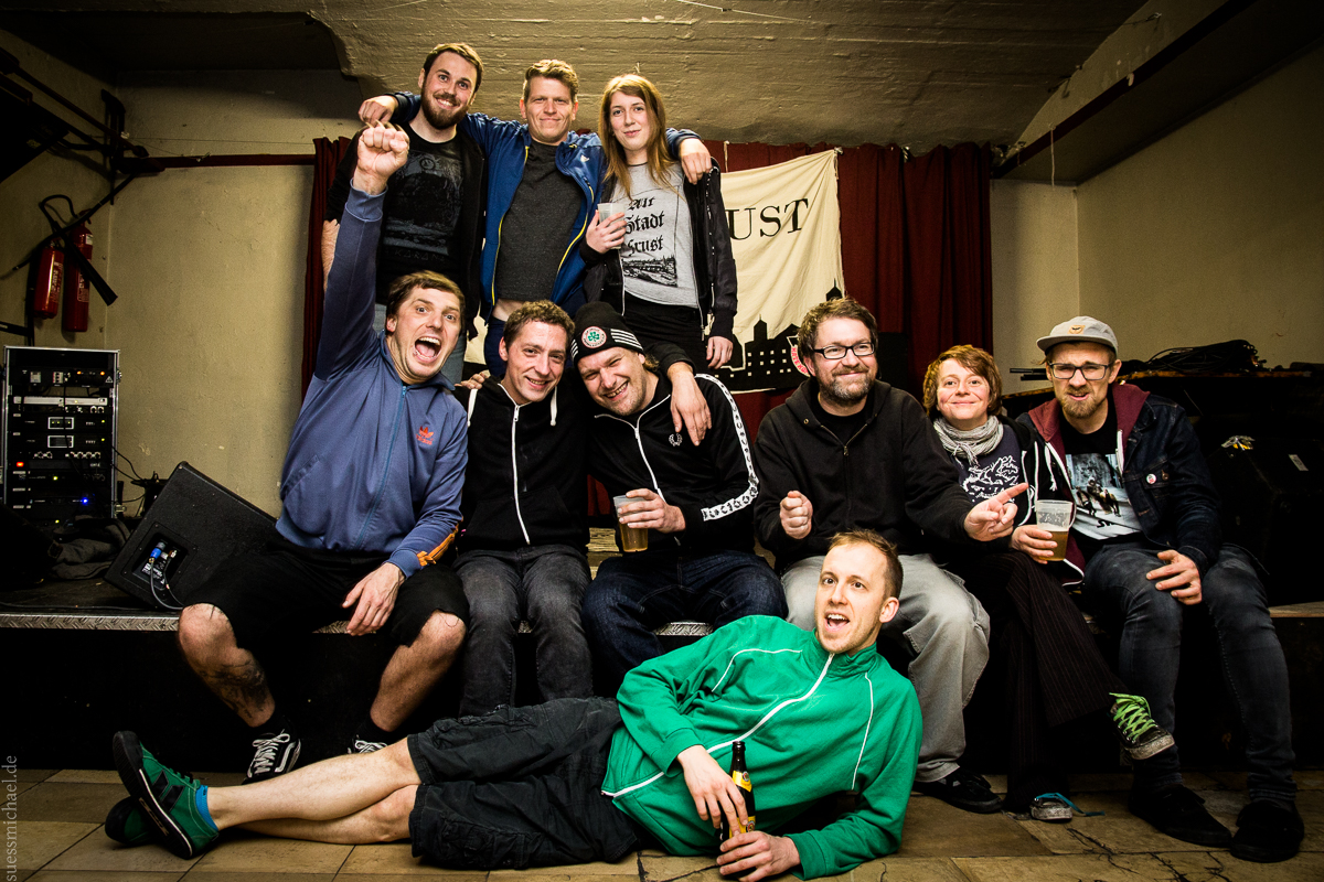 2015-11-12 Kaput Krauts + Das Flug + Moloch Kollektiv