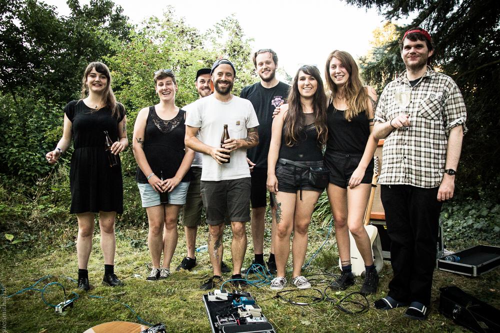 2016-08-14 Muncie Girls + Moloch Kollektiv