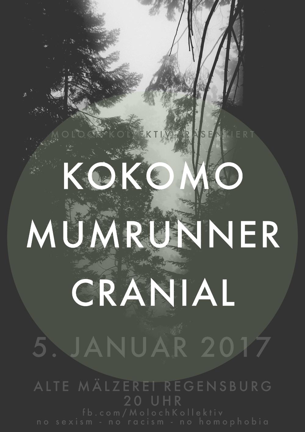 2017-01-05 Kokomo - Mumrunner - Cranial