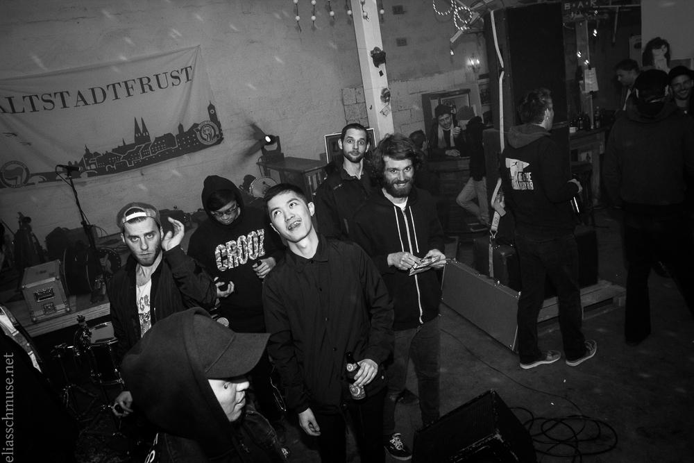 2016-05-01 LimoLisaFax + La Petite Mort / Little Death + Rollergirls + Moloch Kollektiv