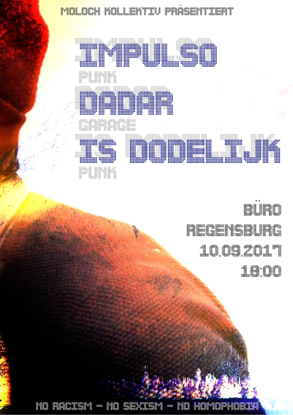 2017-09-10 Impulso + Dadar + Is Dodelijk + Moloch Kollektiv