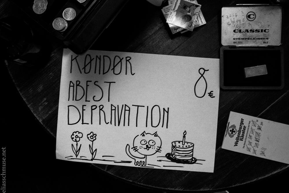 2017-03-31 Depravation + Kondor + Abest + Moloch Kollektiv